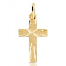 Pendentif croix or 18 carats 20 X 10 mm