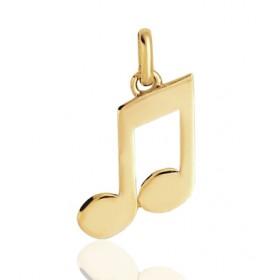 """Pendentif or 18 carats """"note de musique"""""""