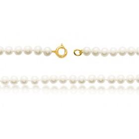 bracelet or 18 carats et perles de culture 5,5 mm
