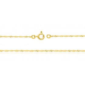 Bracelet or jaune 18 carats Singapour