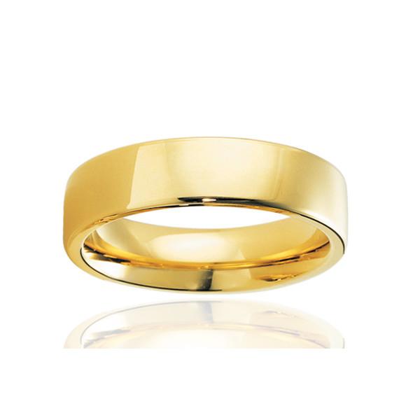 alliance breuning or jaune 18 carats pour homme
