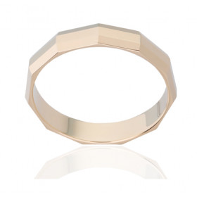 Bague alliance ATELIER P. en or jaune 18 carats pour femme
