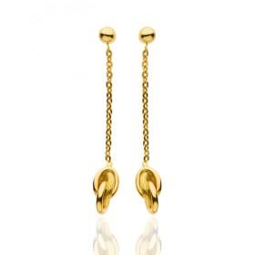 Pendants antillais en or jaune 18 carats pour femme
