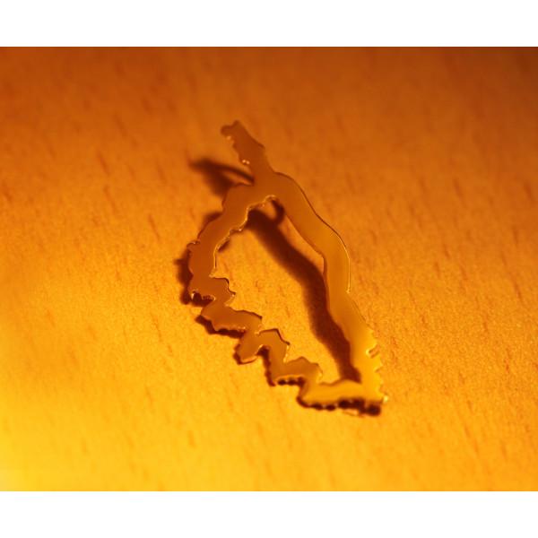 Pendentif or jaune 18 carats Corse