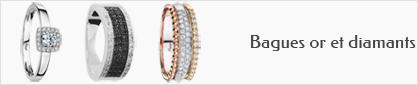 collection de bagues en or et diamants pour femmes