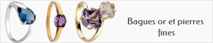 collections de bagues en or et pierres fines pour femmes