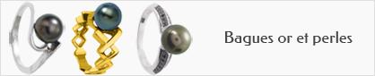 collection de bagues en or et perles pour femmes