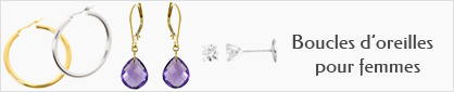 collections de boucles d'oreilles pour femmes