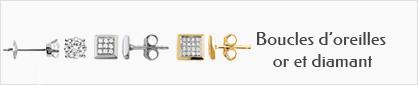 collection de boucles d'oreilles en or et diamant pour hommes.