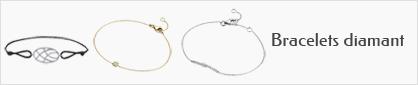collections de bracelet en or 18 carats et diamant pour femmes