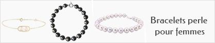 collection de bracelet or et perle pour femmes