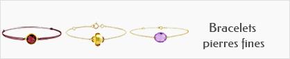 collections de bracelet or et pierres fines pour femmes