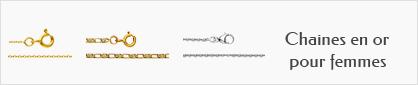 collections de chaines en or pour femmes