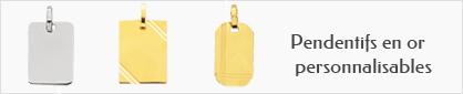 collections de pendentifs en or 18 carats personnalisables pour hommes